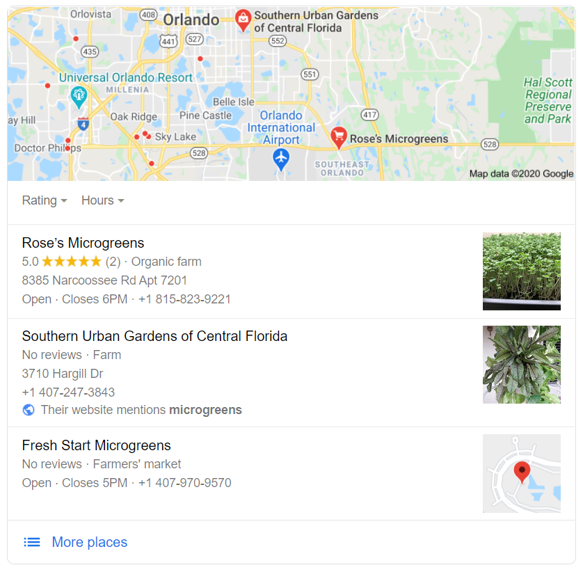 Google Maps for farmers