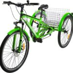 The 3-Wheeled H&ZT Tricycle for Microgreens Delivery